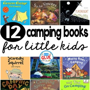 12 camping books for little kids