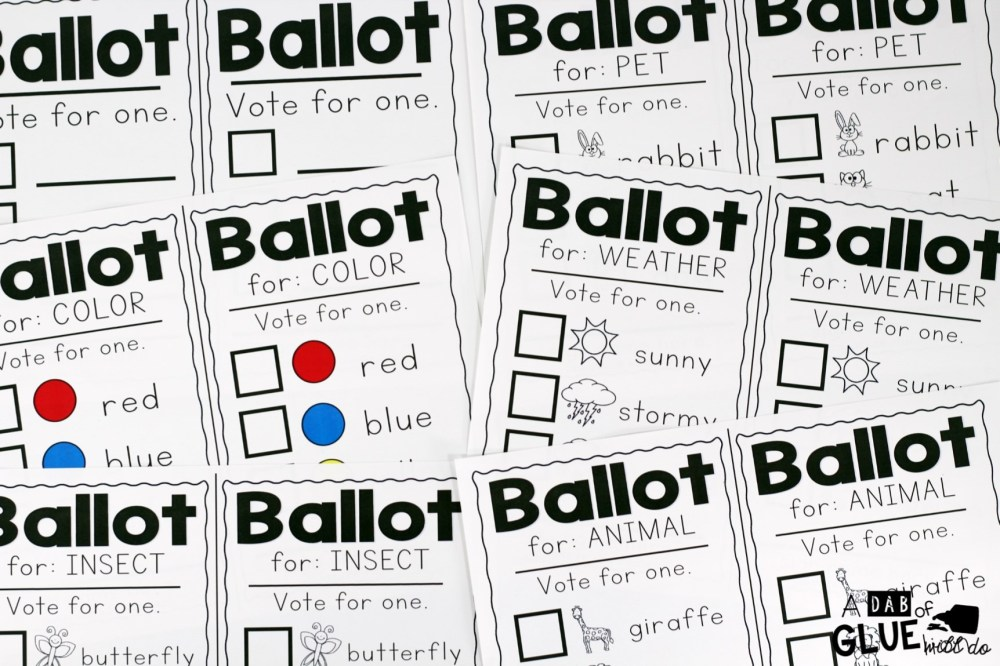 medium resolution of A Mock Election for Little Learners -