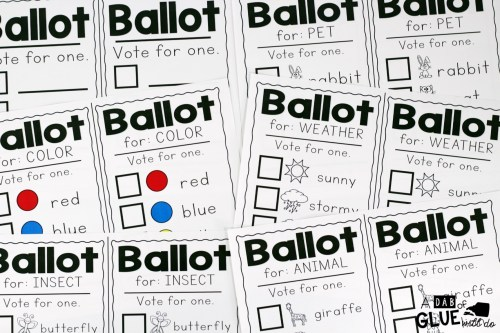 small resolution of A Mock Election for Little Learners -