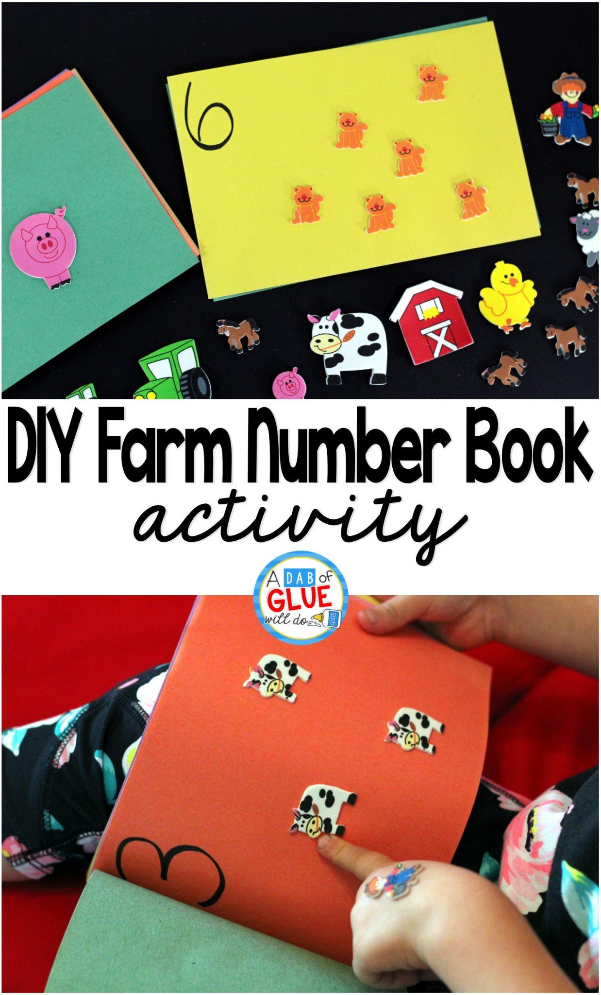 Diy Farm Number Book