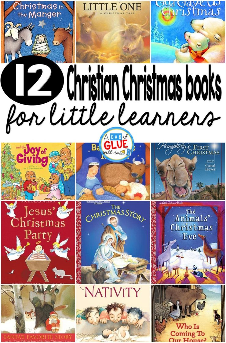 Children's Christmas Books | Don't miss our favorite 12 Christian Children's Christmas Books For Little Learners! These are ideal for reading during the 12 days of Christmas!