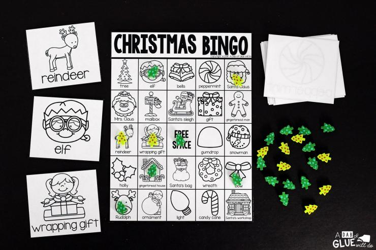 Play Christmas Bingo with your elementary age students for a fun Christmas themed game! Perfect for large groups in your classroom or small review groups. Add this to your Christmas or Holiday party with 30 unique Christmas Bingo boards with your students! Teaching cards are also included in this fun game for young children! Black and white options available to save your color ink.