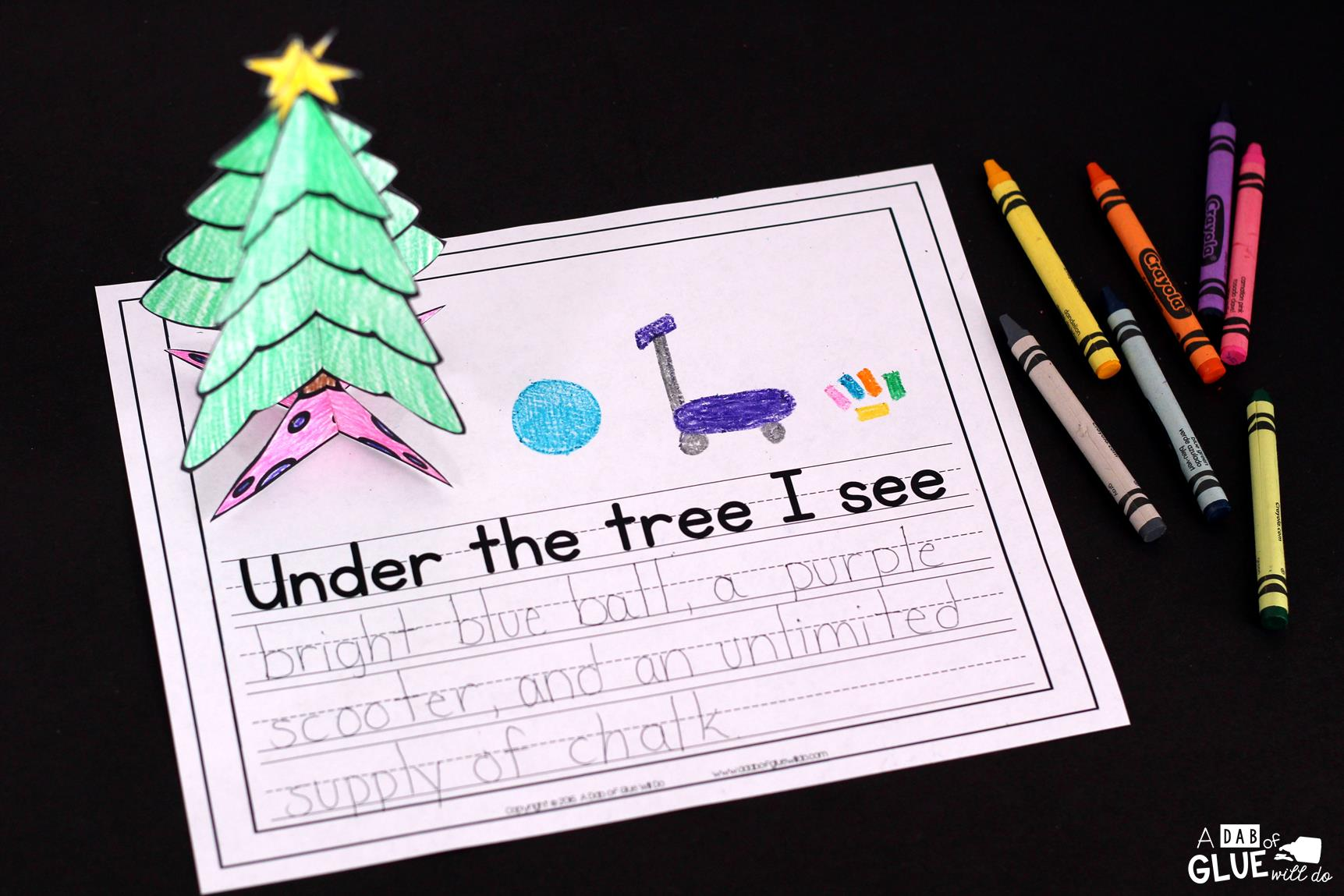 Creative Writing Prompts For Under The Tree