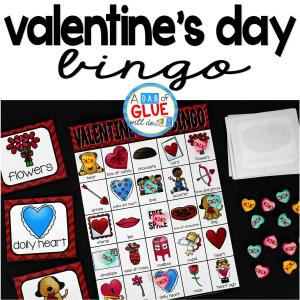 Bingo Sheets For Valentine's Day