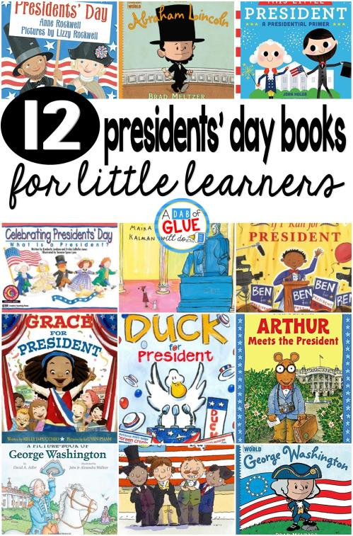 small resolution of 12 Presidents' Day Books for Little Learners -