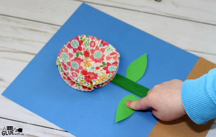 Parts of a Flower Craft, Science Craft, Flower Craft, Parts of a Flower