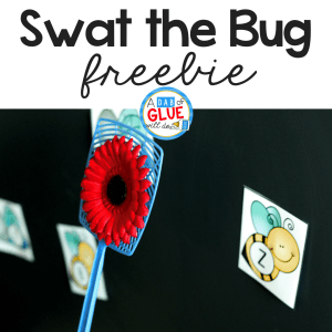 Swat the Bug Learning Activity