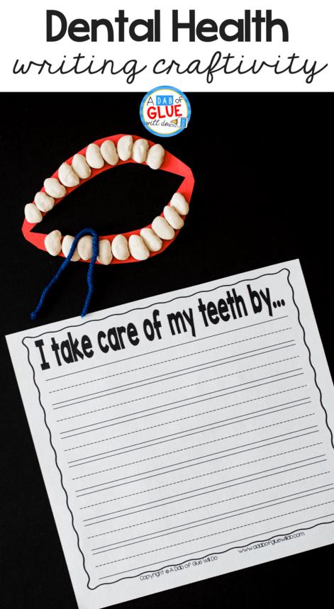 medium resolution of Kids Dental Health Science Unit -