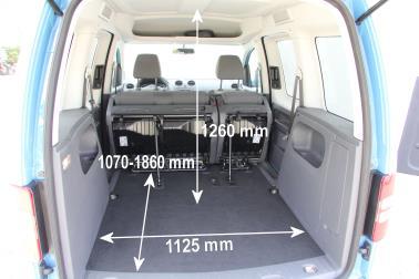 ADAC Auto Test VW Caddy 20 EcoFuel Trendline Erdgasbetrieb