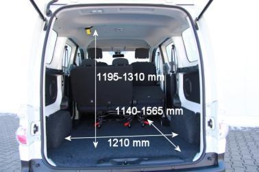 ADAC AutoTest Nissan eNV200 Kombi 24 kWh Premium mit Batteriemiete