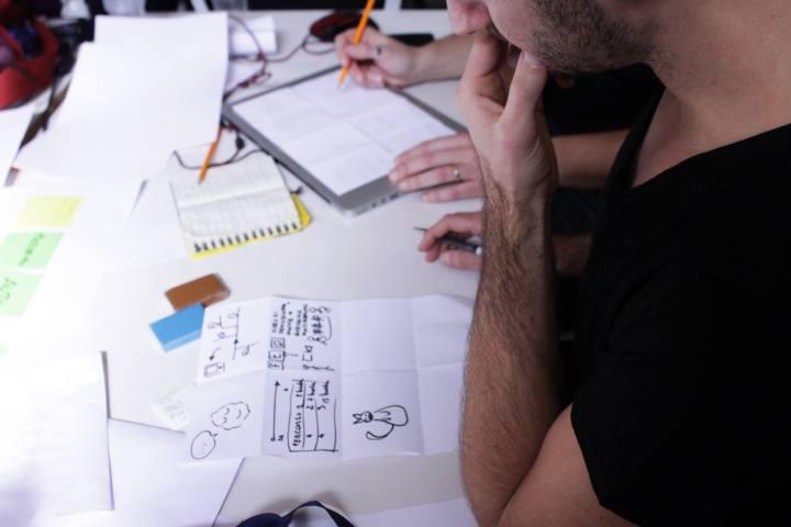 Creatività in azione. Courtesy Rome Service Jam