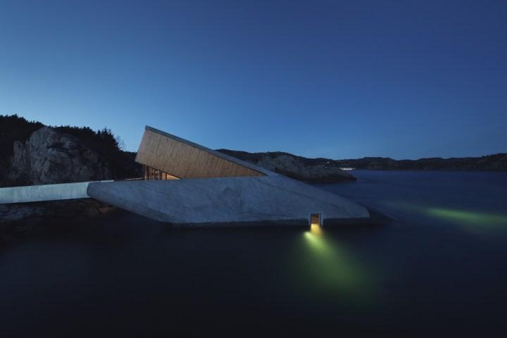 Under, Lindesnes, Norway. Copyright holder IVAR KVAAL. Courtesy Snøhetta