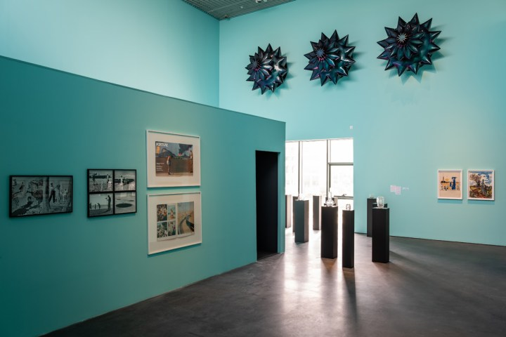 Installation view of Crude, curated by Murtaza Vali, at Jameel Arts Centre, Dubai. Courtesy of Art Jameel. Photography: Mohamed Somji