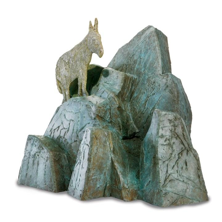 Kiki Smith, Respite, 2017, bronzo. Per gentile concessione dell'artista e della Pace Gallery