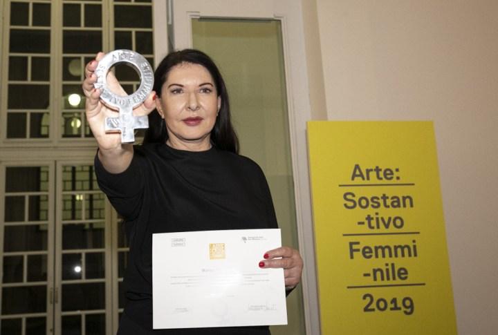 Premio ARTE: Sostantivo Femminile. Marina Abramovic, artista