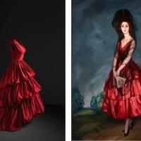 Balenciaga e la pittura spagnola in mostra al Museo Nacional Thyssen-Bornemisza di Madrid