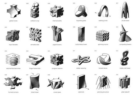 3D Design Inspiration: SITELESS: 1001 Building Forms by