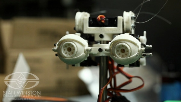 3DxRobotics  How to make animatronic eye mechanisms  Design 3D Printing and Assembly