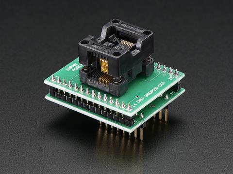 SMT Breakout PCB for SOIC16 or TSSOP16  3 Pack ID