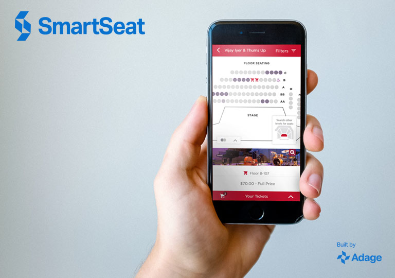 SmartSeat built by Adage Technologies