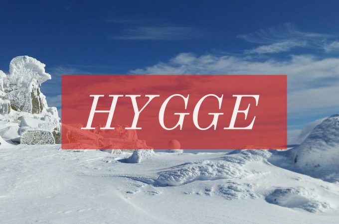 Hygge is used to describe warm feelings of happiness, comfort, and coziness -- image the feeling of the holiday season all winter long.