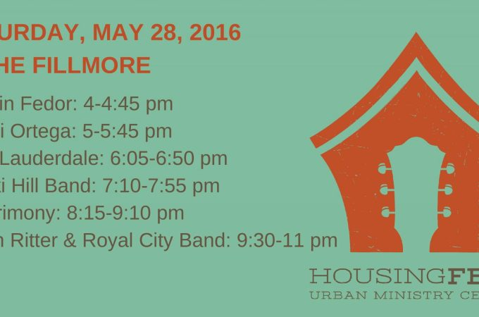 HousingFest 2016 lineup Charlotte, NC