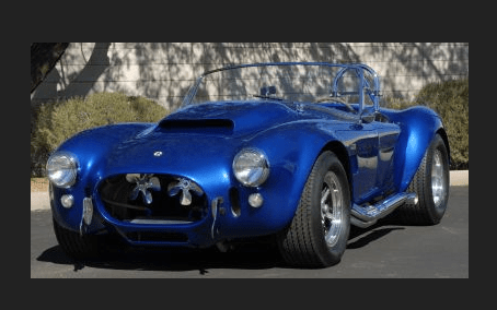 The 1966 Shelby Cobra 427 Super Snake