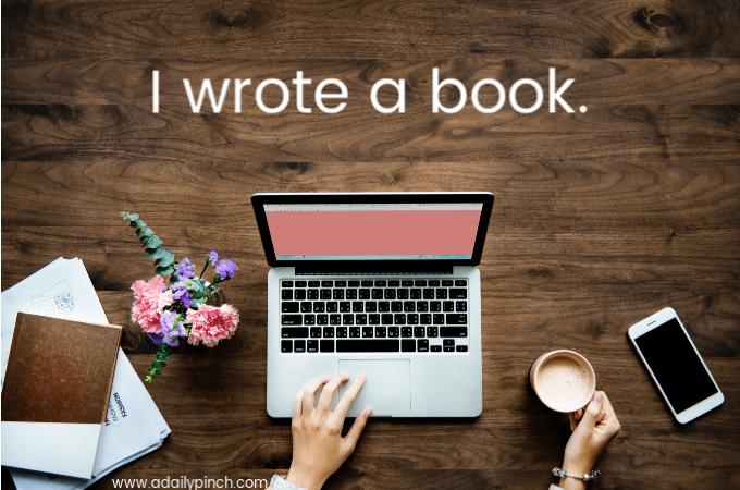 i wrote a book