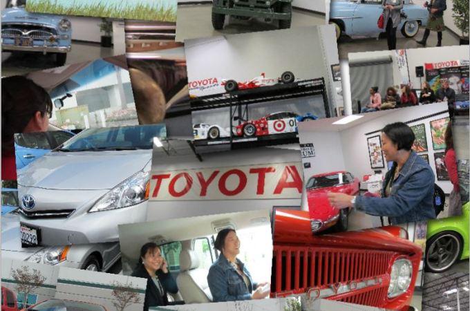 toyoyta women influencer's network collage