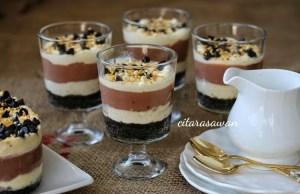 Resep Brownies Pudding