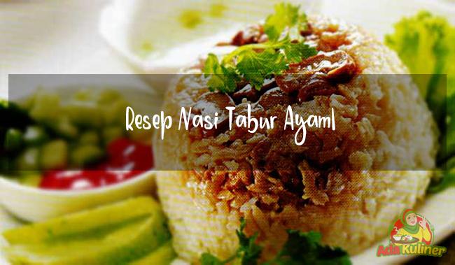Resep Nasi Tabur Ayam