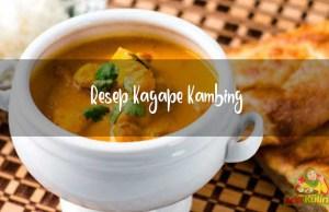 Resep Kagape Kambing