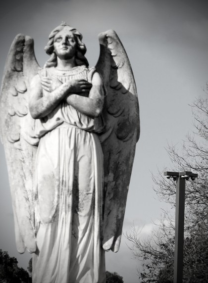 Angel watched by surveillance