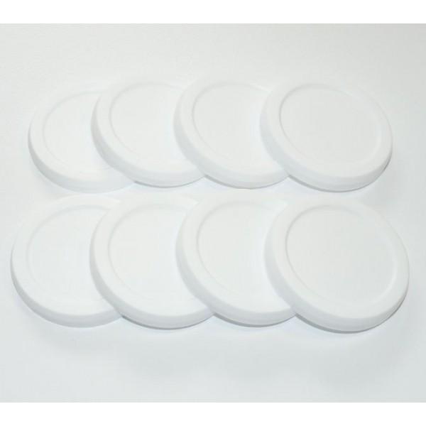 8 couvercles pot a yaourt seb