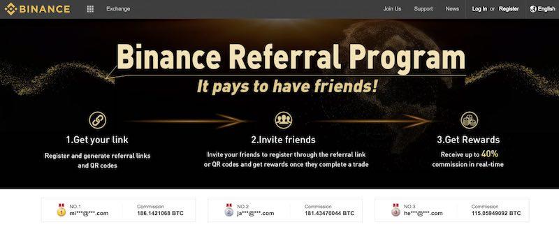 Programas de afiliados de Bitcoin