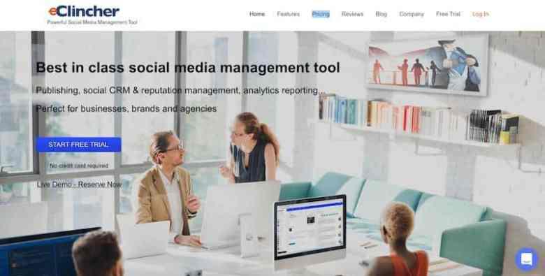 I migliori strumenti di gestione dei social media: eClincher