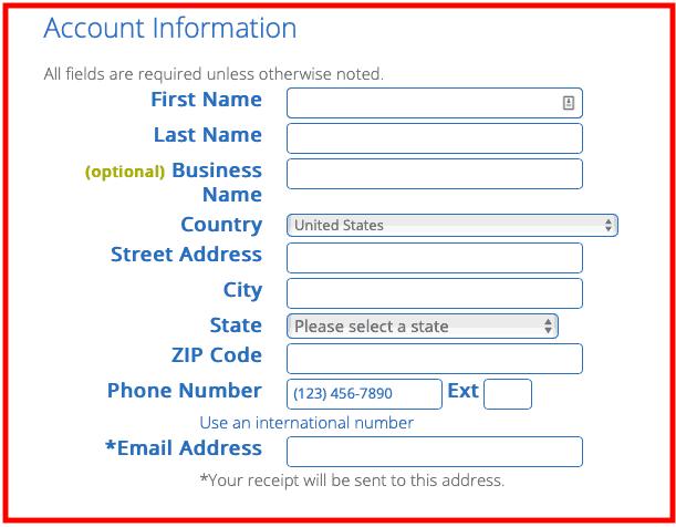 Come avviare un blog - Informazioni sull'account Bluehost