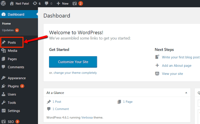 Come avviare un blog: scrivi il tuo primo post