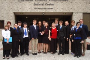 Pierce Co. High School Mock Trial Team - 2011 Region Champs