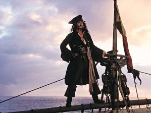 Once Courtney Andersen perfected it, Johnny Depp acted out this iconic scene in Pirates of the Caribbean: Curse of the Black Pearl [Google images]