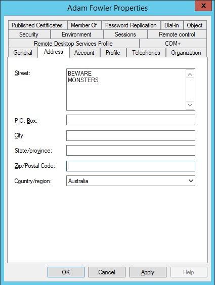 Line Breaks In Active Directory PowerShell - AdamFowlerIT com
