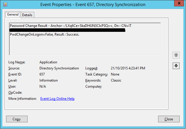 Azure AD Connect - Password Sync Times