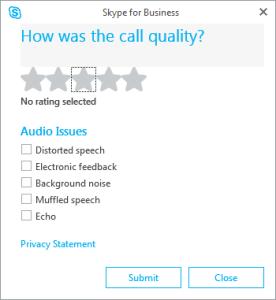 call quality