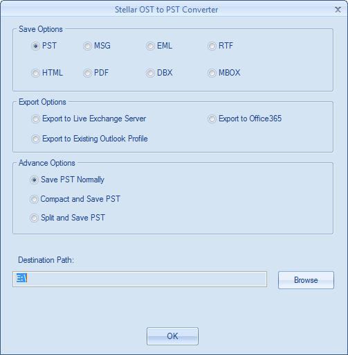 stellar dbx to pst converter key