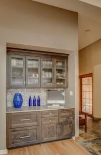 Vaulted Modern Kitchen and Den  Adam Gibson Design