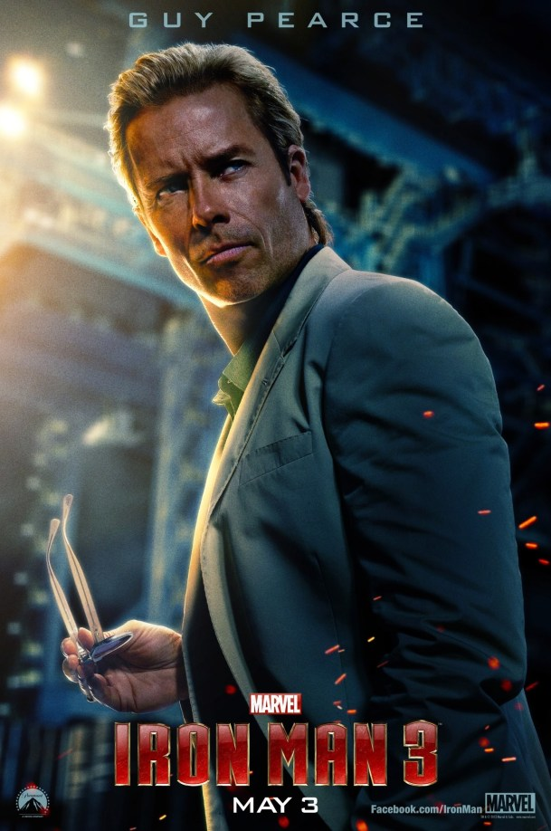 IRON MAN 3 - GUY PEARCE