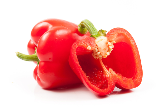 Red-bell-peppers