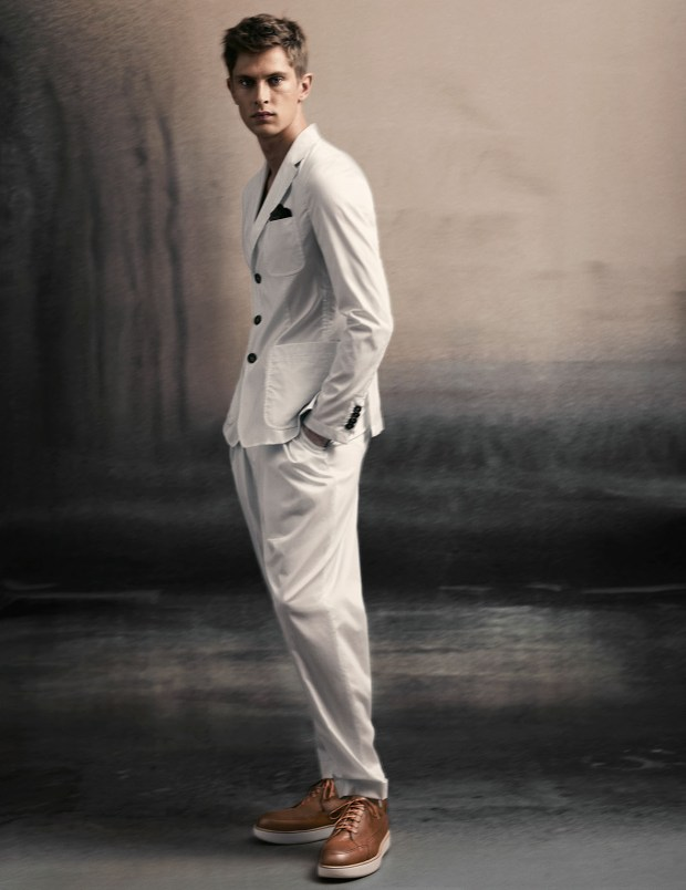 Giorgio Armani advertising campaign  Spring Summer 15 - credit Slve Sundsb (4)