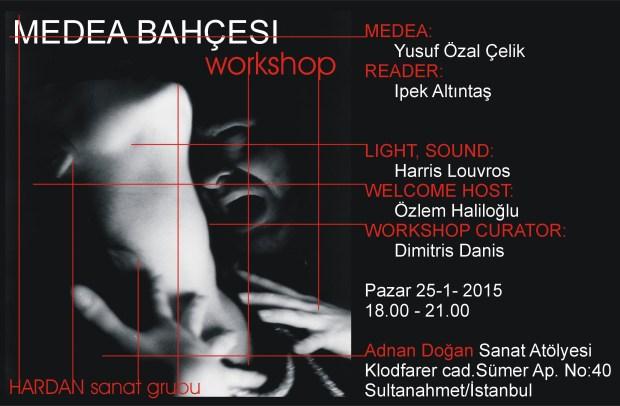 Medea Bahcesi worksop poster B