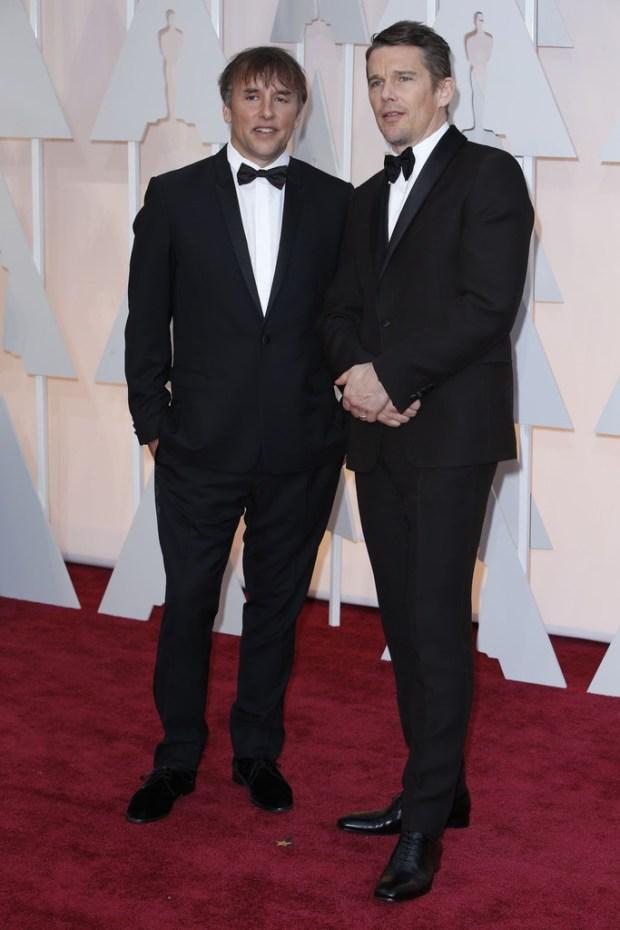 Richard Linklater and Ethan Hawke